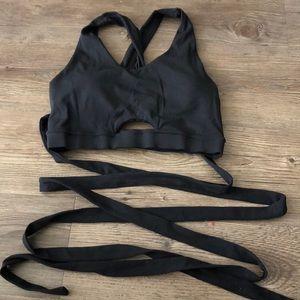 Gymshark wrap sports bra